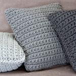 szydełkowe poduszki